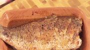 Pieczony karp z miodem