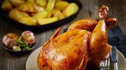 Pieczony kurczak z czosnkiem
