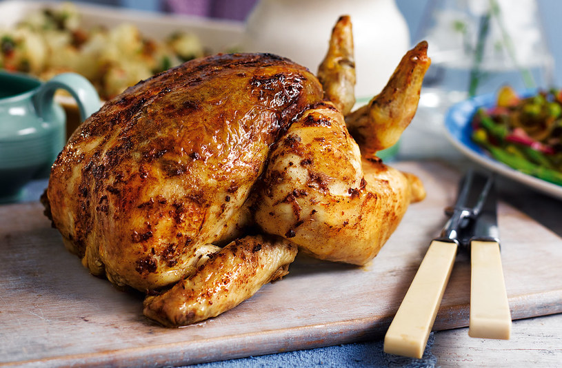 pieczony kurczak /© Photogenica