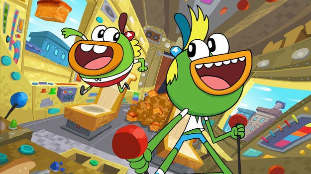 """""""Piekaczki"""" to najnowszy serial animowany, emitowany w Nickelodeon /materiały prasowe"""