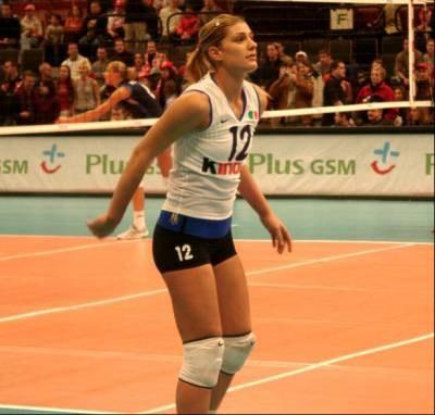 Piękna Francesca Piccinini (kliknij) była w niedzielę nie do zatrzymania /INTERIA.PL