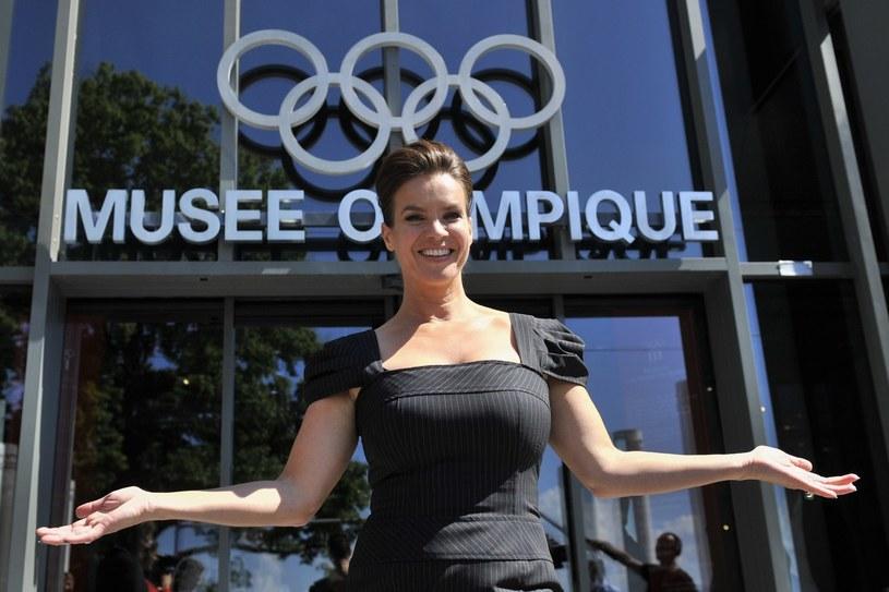 Piękna Katarina Witt jest gorącą zwolenniczką igrzysk w Niemczech /AFP