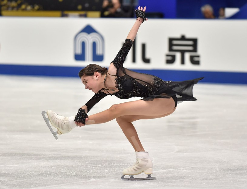 Piękna łyżwiarka Jewgienija Miedwiediewa. Jej czar nie pomógł Rosjanom /AFP