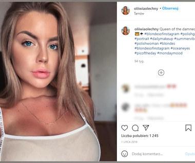 Piękna modelka wspiera zawodnika Wisły Kraków. Wideo