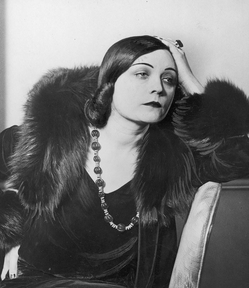 Piękna, utalentowana i wyróżniająca się stylem Pola Negri zrobiła zawrotną karierę w Hollywood (domena publiczna) /Ciekawostki Historyczne