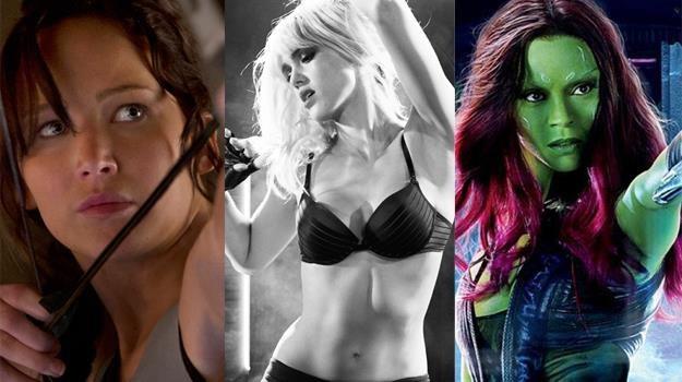 Piękne i waleczne. Jennifer Lawrence, Jessica Alba i Zoe Saldana zapraszają do kin /materiały prasowe