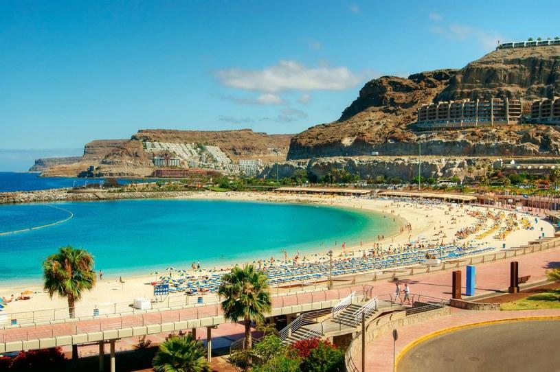 Piekne plaże to największe uroki Gran Canarii /123RF/PICSEL