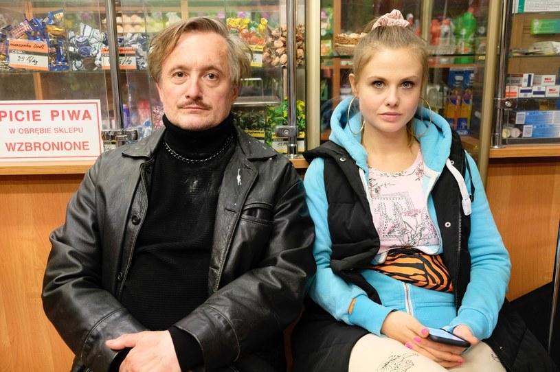"""Piękni i bezrobotni"" /Aleksandra Mecwaldowska /Polsat"