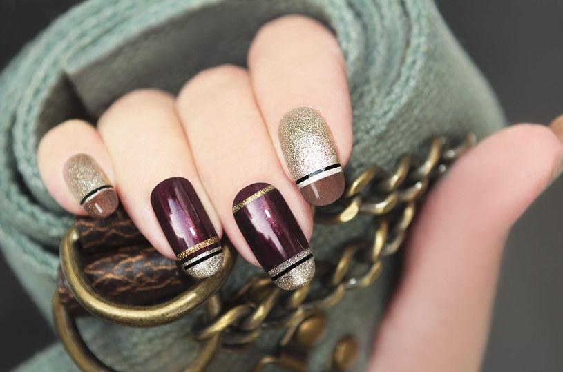 Piękny manicure możesz zrobić sama w domu /123RF/PICSEL