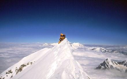 Piękny widok ze szczytu Annapurny /AFP