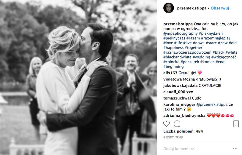 #pięknyczas, #pięknydzień, #razemnajlepiej, #love – to tylko kilka z wielu hasztagów, jakimi oznaczył zdjęcie. /Instagram /materiały promocyjne