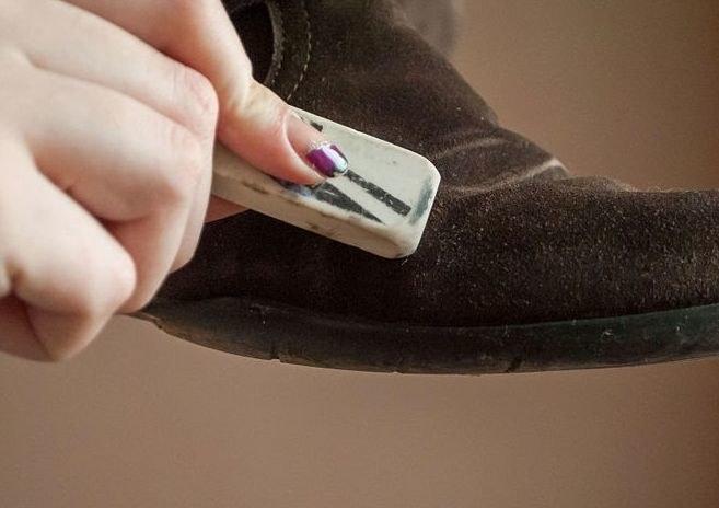 pielęgnacja butów zamszowych /© Photogenica