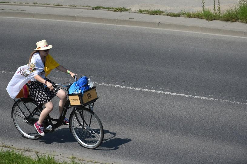 Pielgrzym w drodze z Krakowa do Brzegów /Marcin Obara /PAP
