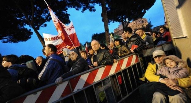 Pielgrzymi przy Via della Conciliazione /AFP