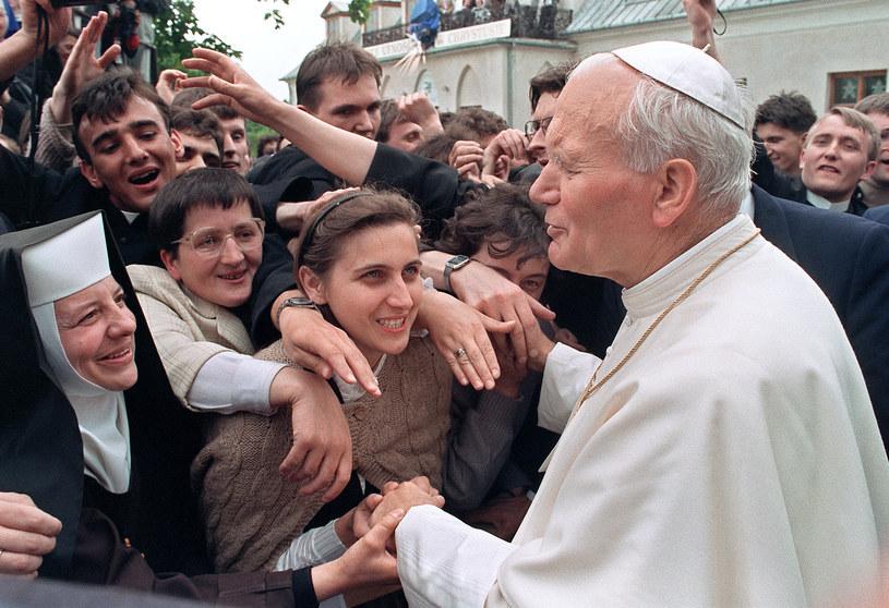Pielgrzymka Jana Pawła II do Polski w roku 1991 /AFP