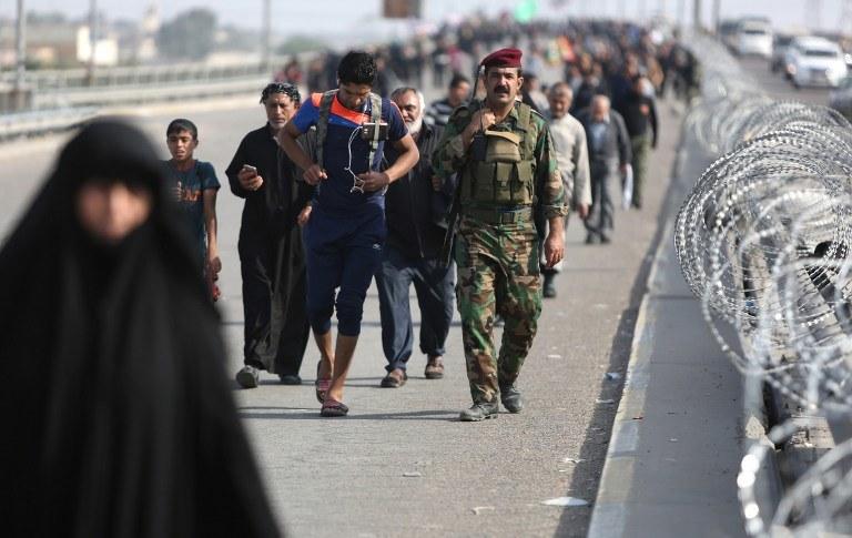 Pielgrzymka szyitów /AFP