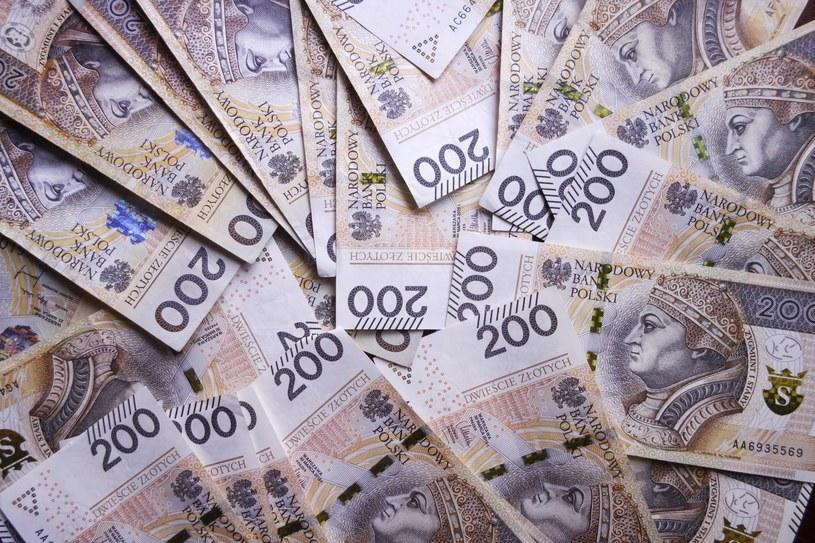 Pieniądze /Kamionka /Reporter