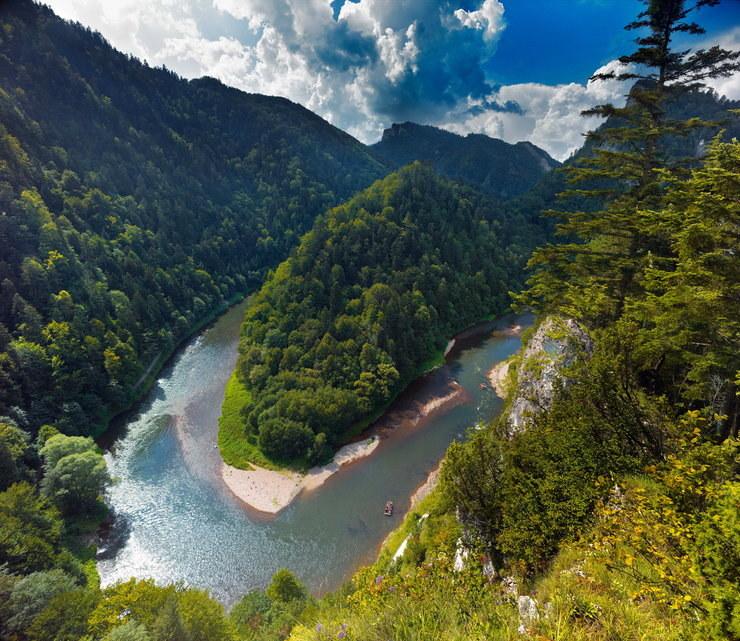 Pieniński Park Narodowy; żródło: agencja BEandW.jpg /materiały promocyjne