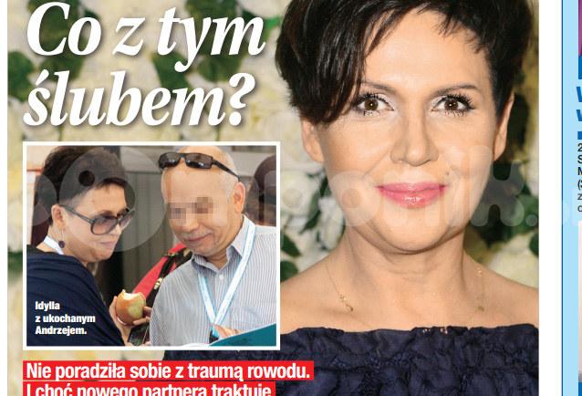 Pieńkowska jest szczęśliwa! /Świat & Ludzie
