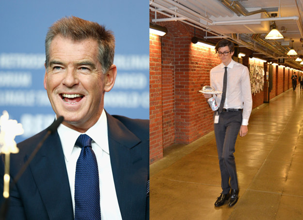 Pierce Brosnan i Dylan Brosnan, podobni? /East News SRK / Splash News /Getty Images