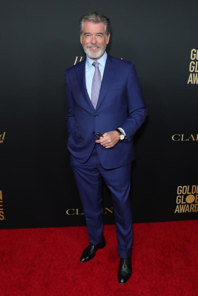 Pierce Brosnan również spędza każdą wolną chwilę w swojej rezydencji na Majorce /Leon Bennett