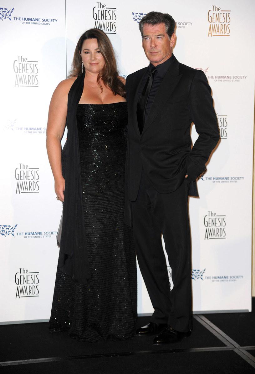 Pierce Brosnan z żoną Keely Shaye Smith  /Getty Images/Flash Press Media