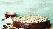 Piernik przekładany w czekoladzie