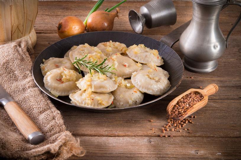 Pierogi z ziemniakami lub kaszą /123RF/PICSEL