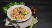 Pierożki z nadzieniem serowo-brokułowym