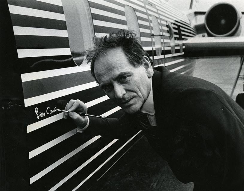 Pierre Cardin jest uważany za jednego z twórców stylu lat 60. /Ellsworth Davis/The Washington Post via Getty Images /Getty Images