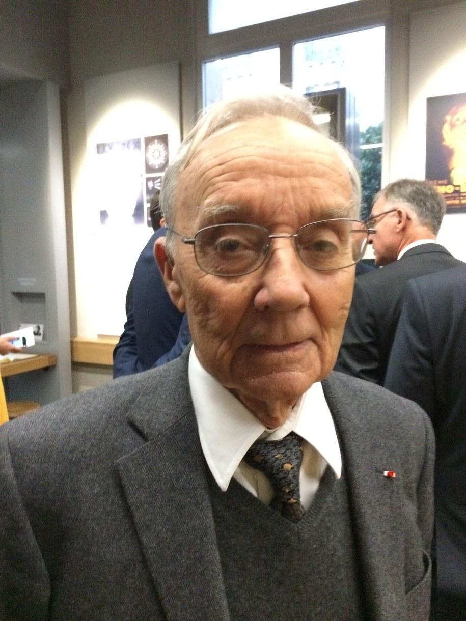 Pierre Joliot /Marek Gładysz /RMF FM