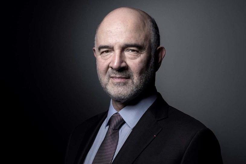 Pierre Moscovici, prezes francuskiego Trybunału Obrachunkowego i były komisarz UE ds. finansów /AFP