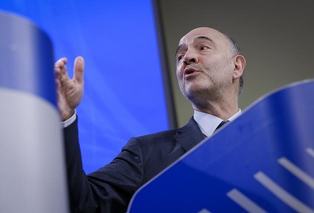 Pierre Moscovici, unijny komisarz ds. finansowych i gospodarczych /EPA