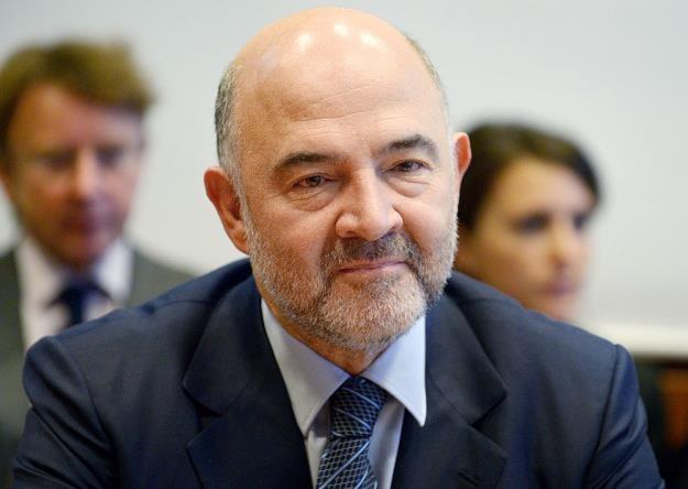 Pierre Moscovici, unijny komisarz ds. gospodarczych i finansowych /AFP