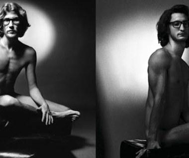 Pierre Niney nago jako Yves Saint Laurent