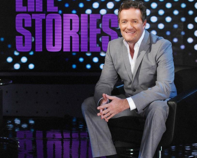 """Piers Morgan, prowadząc brytyjski program śniadaniowy """"Good Morning Britain /Rex Features /East News"""