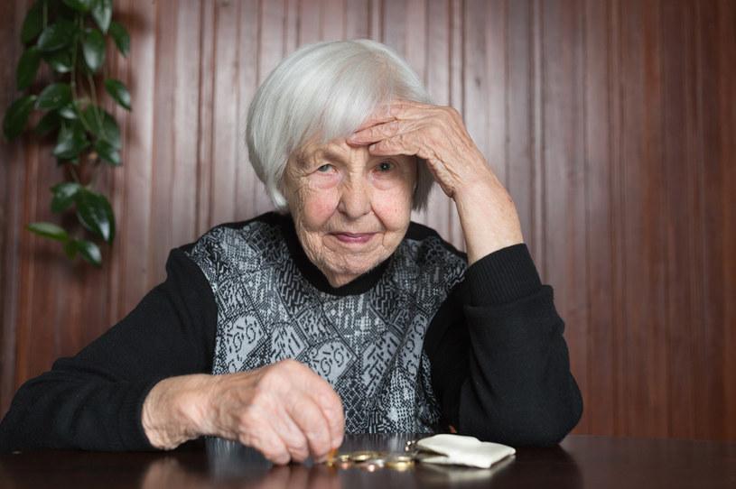 Pierwsi emeryci i renciści mają już na kontach dodatkowe świadczenie tzw. trzynastą emeryturę /123RF/PICSEL