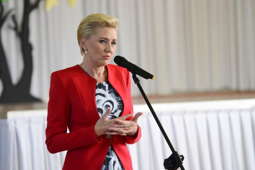 Pierwsza Dama Agata Kornhauser-Duda /Adam Staśkiewicz /East News