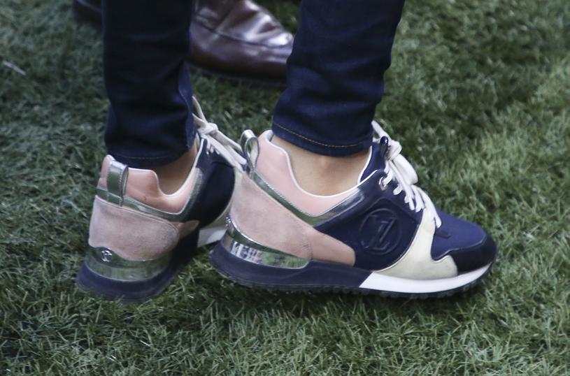 Pierwsza dama ceni sobie wygodę. Szpilki chętnie zamienia na sportowe buty /Getty Images
