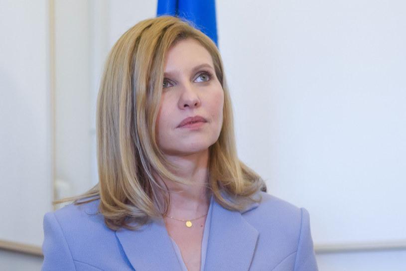 Pierwsza dama Ukrainy Ołena Zełenska /GINTS IVUSKANS/AFP/East News /Agencja FORUM