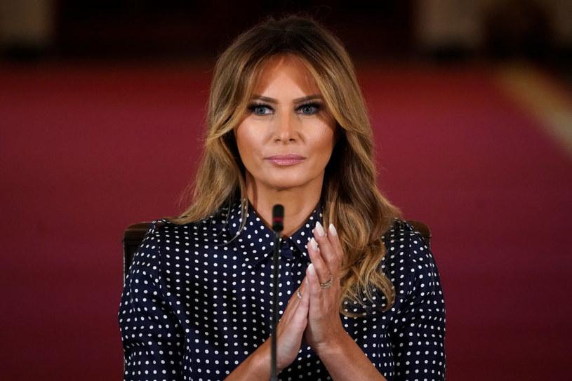 Pierwsza dama USA Melania Trump /DREW ANGERER /Getty Images