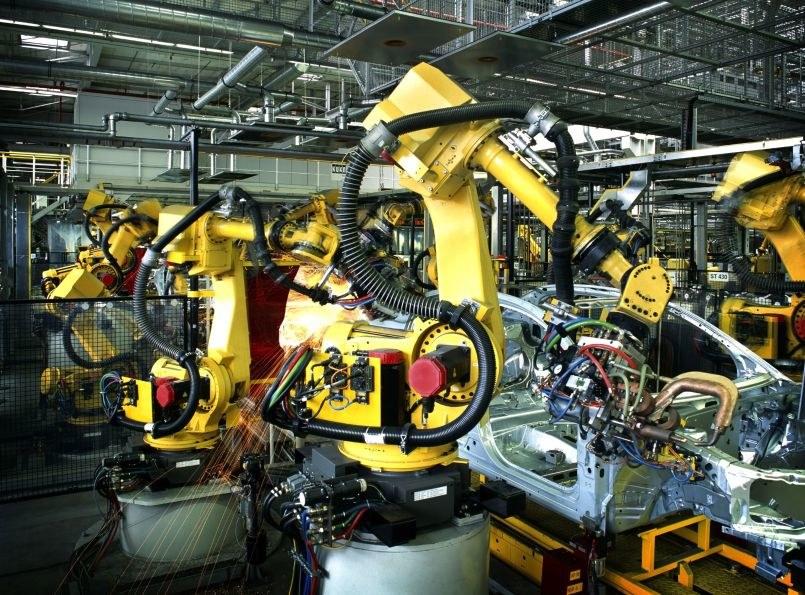 Pierwsza fabryka obsługiwana przez roboty. Będą kolejne? /123RF/PICSEL