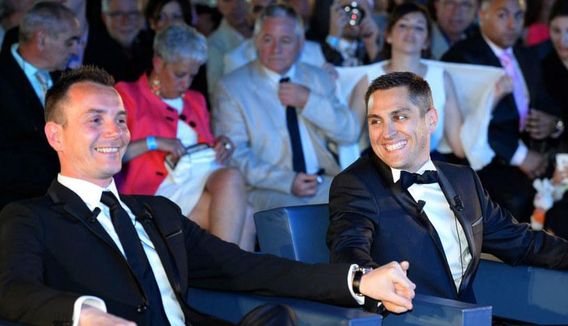 Pierwsza gejowska para, Vincent Aubin i Bruno Boileau, która wzięła ślub w maju, na południu Francji /AFP