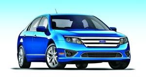 Pierwsza generacja Fusiona zadebiutowała w USA w 2005 roku. Facelifting w 2009 r. /Ford