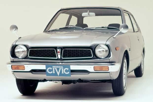 Pierwsza generacja Hondy Civic /INTERIA.PL