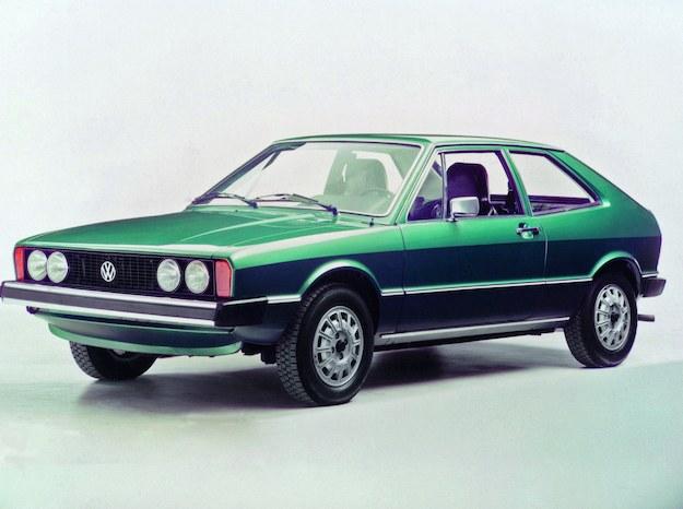 Pierwsza generacja Scirocco. /Volkswagen