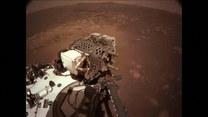 Pierwsza jazda próbna łazika na Marsie