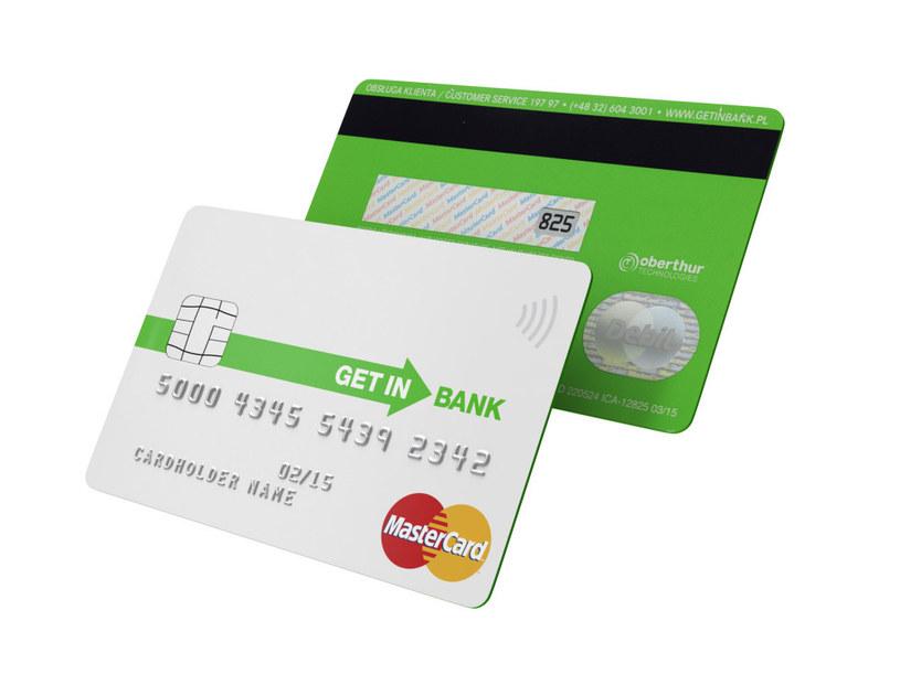 Pierwsza karta płatnicza z kodem DCVC to dzieło Getin Banku /materiały prasowe