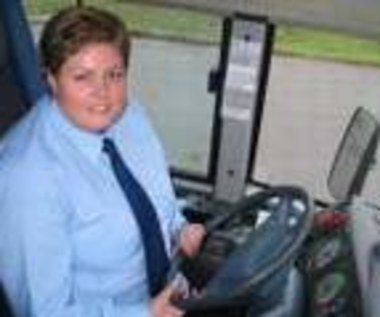 Pierwsza kobieta - kierowca autobusu