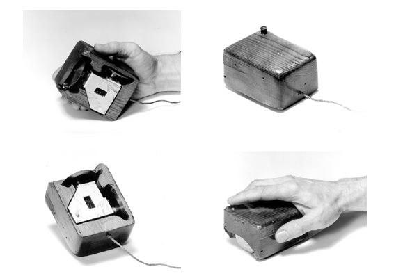 Pierwsza myszka komputerowa na świecie - oryginalny pomysł Douglasa Engelbarta                     Fot. SRI International /materiały prasowe